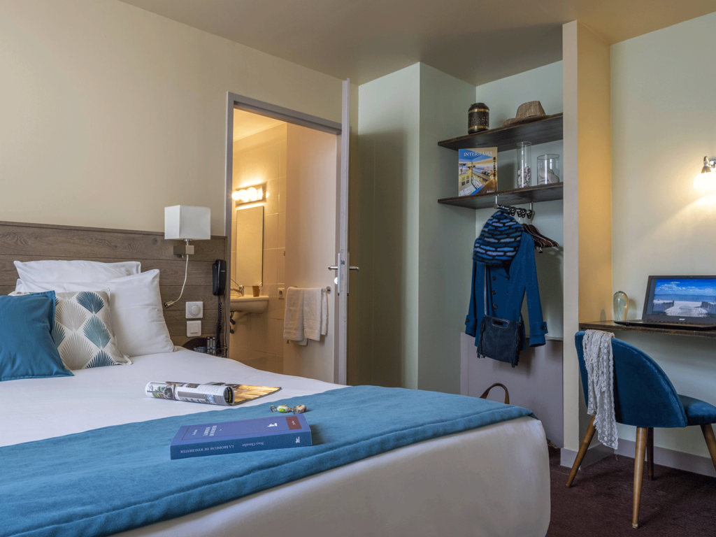 Hôtel Accostage - La Rochelle - Séjours Affaires - Chambres